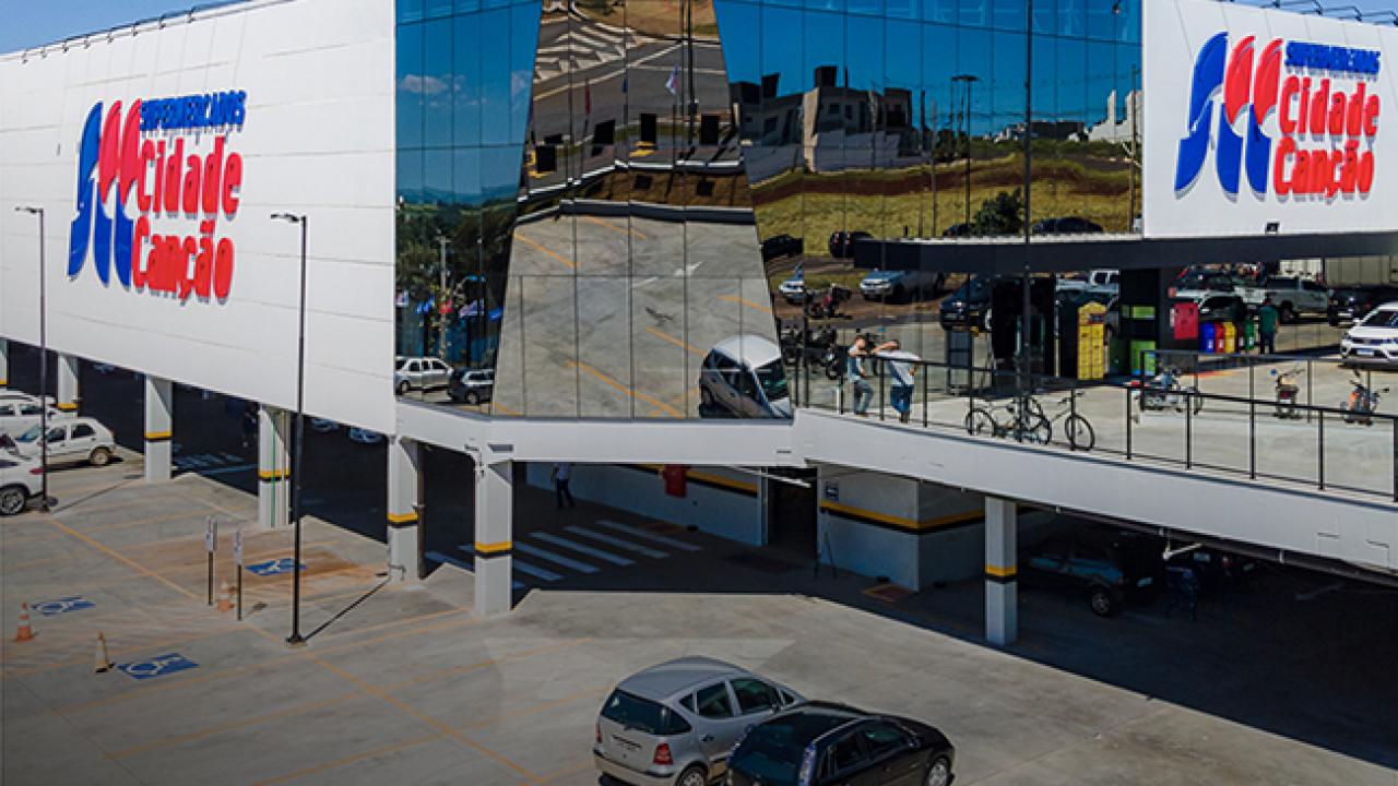 Obra Supermercados Cidade Canção - Maringá